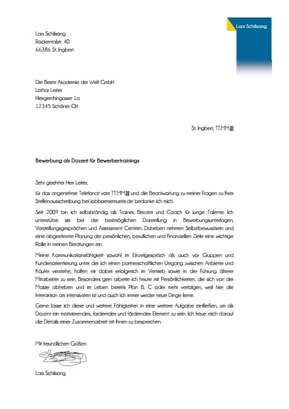 Bewerbungsanschreiben Vorlagen Muster 2021 Spirofrog 7