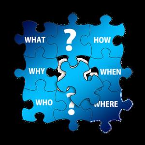 Puzzle, Einzigartigkeit, Wer bin ich