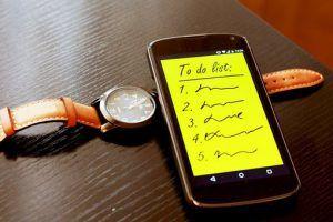 Zeitmanagement, Baufinanzierung, Smartphone, Uhr