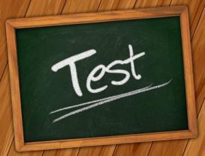 Einstellungstest, Eignungstest, Auswahlverfahren, Test, Tafel