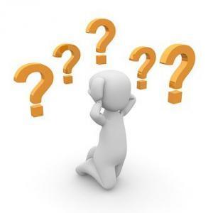 Fragen Vorstellungsgespräch Bewerbungsgespräch Antworten Fragezeichen Vorbereitung Männchen