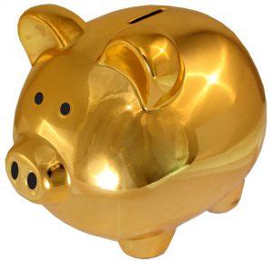 Tagesgeldkonto Tagesgeld goldenes Sparschwein