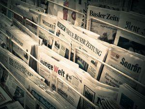 Kiosk mit Zeitungen tagesgeld-lebensversicherung-zinsen-sparkonto-tagesgeldvergleich