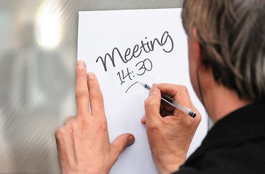Meeting, Motivation, Kommunikation