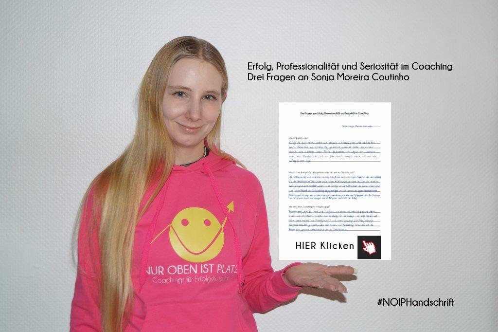 Professionalität, professionell, Sonja