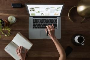 Notebook Recherche Bewerbungstipp, Bewerbungstipps, Internet